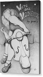 We're All Violoncellists By Proxy Acrylic Print by Louis Gleason