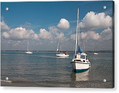 Acrylic Print featuring the photograph West Wittering by Shirley Mitchell