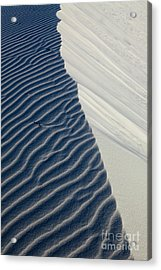White Sands Acrylic Print by Keith Kapple