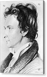 William Hazlitt (1778-1830) Acrylic Print by Granger