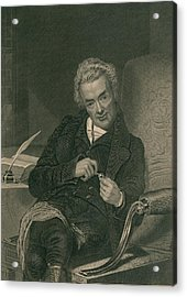 William Wilberforce 1859-1833 British Acrylic Print by Everett