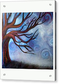 Acrylic Print featuring the painting Wind by Monica Furlow