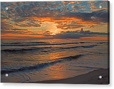 Wish You Were Here... Acrylic Print by Dave Alexander