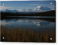 Wonder Lake Denali National Park Acrylic Print