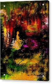 Acrylic Print featuring the digital art Wonderworld by Leo Symon