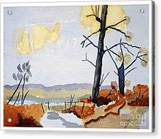 Wooded Landscape Acrylic Print