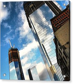 Wtc Never Forget Never Surrender - New Acrylic Print