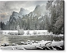 Yosemite National Park, California, Usa Acrylic Print by Robert Brown