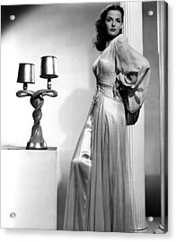 Young Widow, Jane Russell, 1946 Acrylic Print by Everett