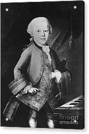 Young Wolfgang Amadeus Mozart, Austrian Acrylic Print by Omikron