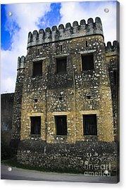 Zanzibar Old Fort Acrylic Print by Darcy Michaelchuk