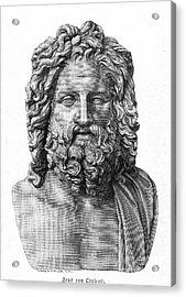 Zeus Acrylic Print by Granger