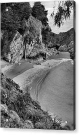Mcway Falls - Big Sur Acrylic Print by Stephen  Vecchiotti