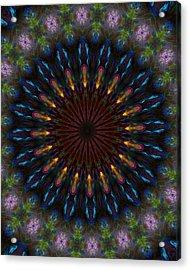 10 Minute Art 120611a Acrylic Print by David Lane