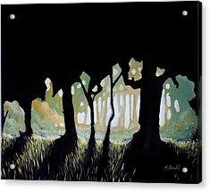 Acrylic Print featuring the painting ... by Mariusz Zawadzki
