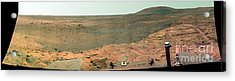 Panoramic View Of Mars Acrylic Print by Stocktrek Images