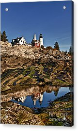 Pemaquid Point Lighthouse Acrylic Print by John Greim