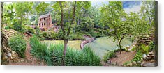 1007-2789 Old Mill  Acrylic Print by Randy Forrester