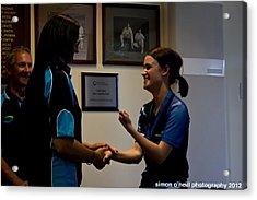 Australian Deaf Games 2012 Acrylic Print by Edan Chapman