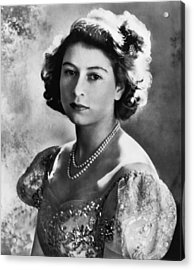British Royalty. Future Queen Acrylic Print by Everett