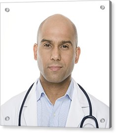 Doctor Acrylic Print by