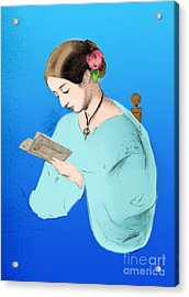 Florence Nightingale, English Nurse Acrylic Print by Science Source