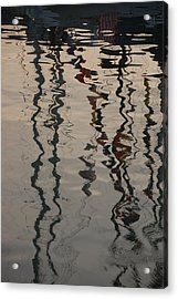 Port Huron To Mackinac Race Acrylic Print