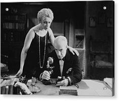 Film Still: Telephones Acrylic Print by Granger