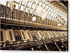 Leadenhall Market London Acrylic Print by David Pyatt
