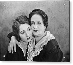 Silent Film Still: Women Acrylic Print by Granger