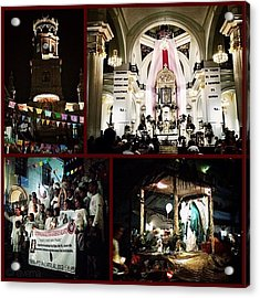 12/12/12: Our Lady Of Guadalupe Festival Acrylic Print