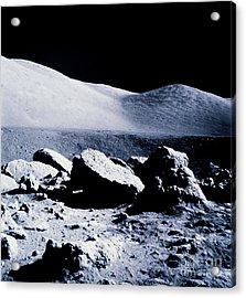 Apollo Mission 17 Acrylic Print by Nasa
