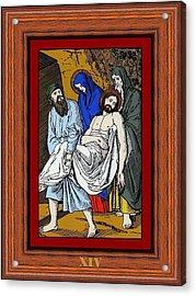 Drumul Crucii - Stations Of The Cross  Acrylic Print by Buclea Cristian Petru