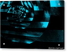 Twirling Acrylic Print by Mihaela Stancu