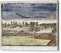 Battle Of Concord, 1775 Acrylic Print by Granger