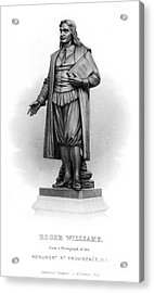 Roger Williams (1603-1683) Acrylic Print by Granger