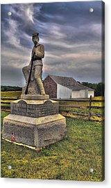 149th Pennsylvania Infantry Acrylic Print by Dave Sandt