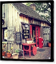 Instagram Photo Acrylic Print by Michele Green Williams