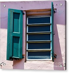 Architectural Series  Acrylic Print by Terry Troupe