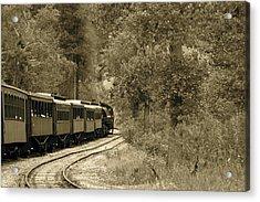 1800's Train Acrylic Print