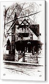 1900 Home Acrylic Print by Marcin and Dawid Witukiewicz