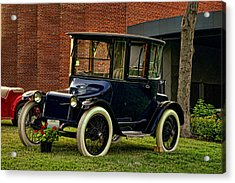 1917 Detroit Electric Model 68 Acrylic Print by Tim McCullough