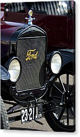 1925 Ford Model T Coupe Grille Acrylic Print by Jill Reger