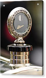 1927 Pierce-arrow Limousine Motometer Hood Ornament Acrylic Print by Jill Reger