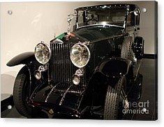 1927 Rolls Royce Phantom 1 Towncar - 7d17195 Acrylic Print by Wingsdomain Art and Photography