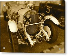 Acrylic Print featuring the photograph 1930 Mercedes Benz 710 Ss Rennsport by John Colley