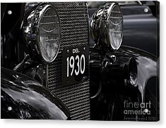Acrylic Print featuring the photograph 1930 by Tamera James