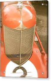 Acrylic Print featuring the photograph 1931 Clemons On A 1927 Duesenberg Chassis by John Colley