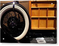 1931 Ford Model A Station Wagon - 7d17491 Acrylic Print by Wingsdomain Art and Photography