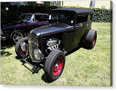 1931 Ford Victoria . 5d16454 Acrylic Print by Wingsdomain Art and Photography
